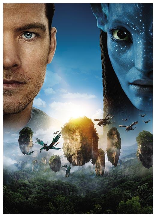 Панорамный постер Avatar / Аватар